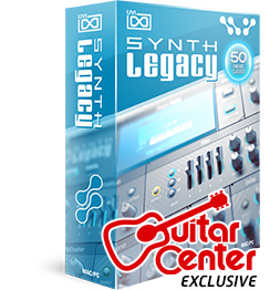 NEW! Synth Legacy - Available exclusively at Guitar Center